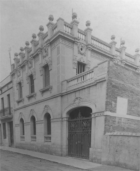PRIMER LABORATORIO.  GRACIA (BARCELONA)